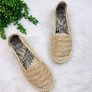 Dolce Vita Shoes - [DolceVita] Natural Woven Wicker Espadrille Flats